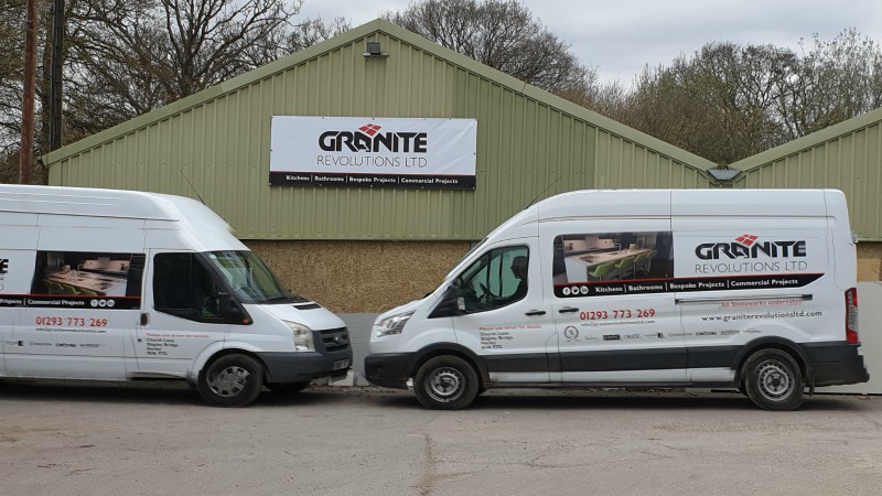 Granite Revolutions Granite and Quartz Specialists in Horley, Surrey